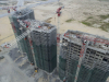 An aerial view of three towers in the Eko Energy Estate