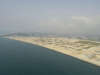 Phase 1 & 2 of Eko Atlantic (Left) as seen from the air