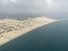 Eko Atlantic Phase 2 & 3 (right) as seen from the air
