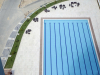A view of the pool in Eko Pearl