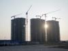 Three towers in Eko Energy Estate under construction