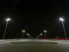 Looking South on Eko Boulevard at night.
