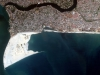 Land reclamation view from space, January 2013