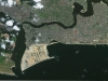 Eko Atlantic seen from the IKONOS satellite, January 2014