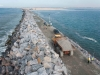 Great Wall of Lagos at 3 kilometres
