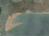 Land reclamation view from space, January 2012