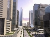 Eko Boulevard, Business District. North aspect