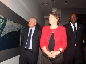 UNDP Representatives visit Eko Atlantic city project