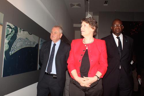 UNDP Representatives visit Eko Atlantic city project