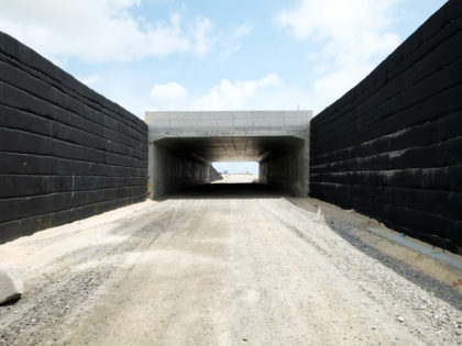 Southern underpass completed