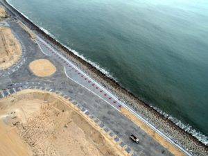 EKO ATLANTIC'S 'GREAT WALL OF LAGOS' PASSES 6KM
