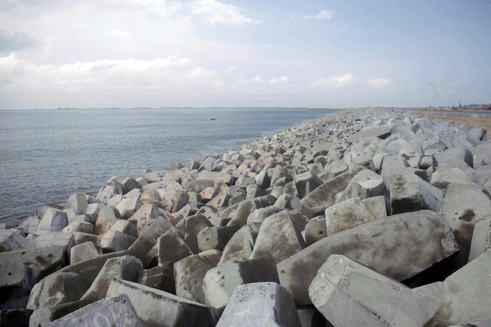 The History Of The Great Wall Of Lagos Eko Atlantic