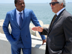 Togolese President commends Eko Atlantic City on its solution to coastal erosion