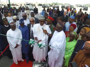 Buhari Inspects Eko Atlantic City, Says 'I'm Truly Impressed'